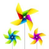 Brinquedo do Pinwheel Imagem de Stock Royalty Free