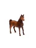 Brinquedo do plástico do cavalo foto de stock royalty free