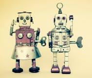 Brinquedo do robô de Rerto Fotografia de Stock Royalty Free