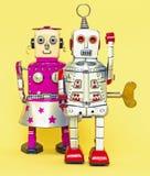 Brinquedo do robô de Rerto Fotos de Stock Royalty Free