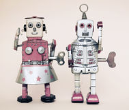 Brinquedo do robô de Rerto Foto de Stock Royalty Free