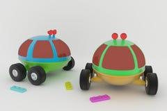 Brinquedo do ` s das crianças de Lunohod- Foto de Stock Royalty Free