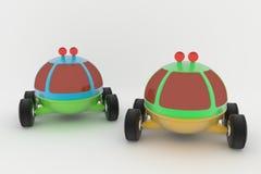 Brinquedo do ` s das crianças de Lunohod- Fotografia de Stock Royalty Free