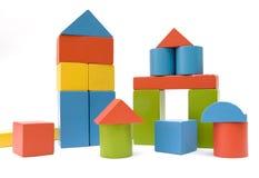 Brinquedo do tijolo Fotografia de Stock Royalty Free