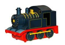 Brinquedo do trem das crianças fotos de stock royalty free