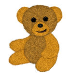 Brinquedo do urso da peluche ilustração stock