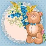 Brinquedo do urso de peluche Imagens de Stock Royalty Free