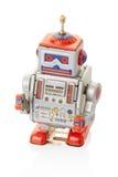 Brinquedo do vintage do robô Imagens de Stock