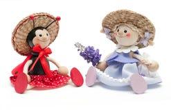 Brinquedo dois engraçado Foto de Stock