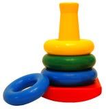 Brinquedo dos anéis Fotos de Stock Royalty Free