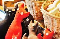brinquedo dos gatos Foto de Stock Royalty Free