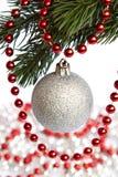 Brinquedo e festão de ano novo Imagens de Stock Royalty Free