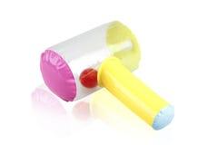 Brinquedo inflável do martelo Imagens de Stock