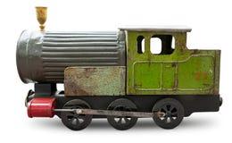 Brinquedo locomotivo Fotografia de Stock Royalty Free