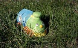 Brinquedo locomotivo Imagem de Stock Royalty Free