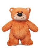 Brinquedo marrom ereto do luxuoso do urso de peluche Fotografia de Stock Royalty Free