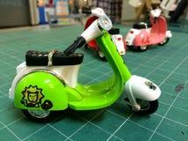 Brinquedo modelo do Vespa Fotos de Stock Royalty Free