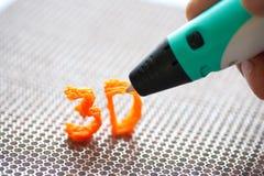 brinquedo moderno do punho 3d Imagens de Stock