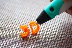 brinquedo moderno do punho 3d Imagem de Stock Royalty Free