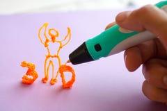 brinquedo moderno do punho 3d Foto de Stock Royalty Free