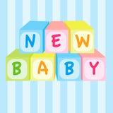 Brinquedo novo do bebê Fotografia de Stock Royalty Free