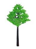 Brinquedo plástico da árvore foto de stock royalty free