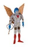 Brinquedo plástico retro do spaceman foto de stock royalty free