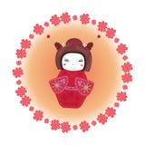 Brinquedo tradicional japonês Fotos de Stock Royalty Free