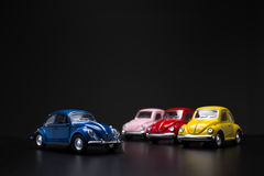 Brinquedo Volkswagen Beetle Fotografia de Stock