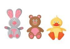 Brinquedos animais Foto de Stock Royalty Free