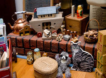 Brinquedos antigos imagem de stock