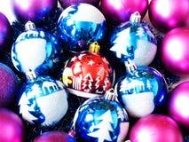 Brinquedos bonitos de ano novo Imagens de Stock