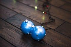Brinquedos brilhantes do ano novo Imagem de Stock
