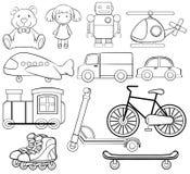 Brinquedos clássicos Foto de Stock