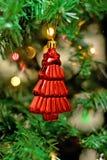 Brinquedos da árvore de Natal fotografia de stock