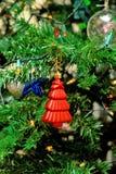 Brinquedos da árvore de Natal Imagens de Stock