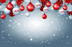 Brinquedos da árvore de Natal Imagens de Stock Royalty Free