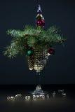 Brinquedos da árvore de Natal Fotos de Stock Royalty Free