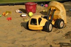 Brinquedos da caixa de areia Imagens de Stock