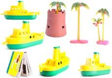 Brinquedos da coleção Imagem de Stock Royalty Free