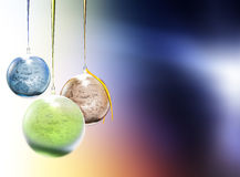 brinquedos da Pele-árvore sob a forma de um planeta Foto de Stock Royalty Free