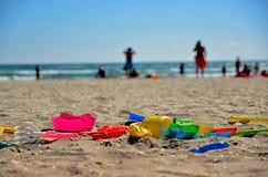Brinquedos da praia foto de stock royalty free