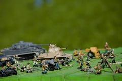 Brinquedos da técnica do exército Fotos de Stock Royalty Free