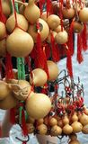 Brinquedos das abóboras em Hong Kong foto de stock