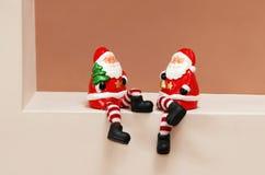 Brinquedos das cláusulas de Santa imagem de stock royalty free