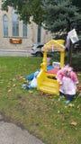 Brinquedos das crianças Fotos de Stock Royalty Free