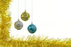 Brinquedos de ano novo Fotografia de Stock Royalty Free