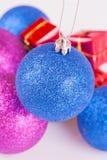 Brinquedos de ano novo Foto de Stock Royalty Free