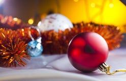 Brinquedos de Christmass Fotografia de Stock