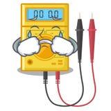 Brinquedos de grito do multímetro digital na forma dos desenhos animados ilustração stock